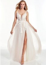 Alyce 60894 Lace & Tulle Prom Dress