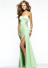 Faviana 7307 Chiffon Evening Gown
