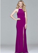 Faviana 7976 Chic & Sleek Fitted Jersey Gown
