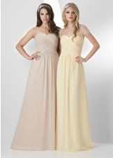 Bari Jay 877 Sweetheart Chiffon Dress