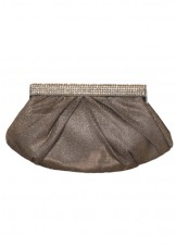 Mon Cheri MC102 Rhinestone Folds Clutch