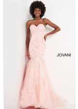 JVN by Jovani JVN00874 Mermaid Prom Dress