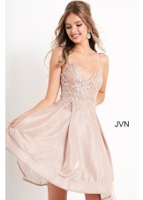 JVN by Jovani JVN04010 Short Prom Dress