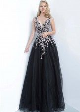 JVN by Jovani JVN2302 Black/Rose Size 22