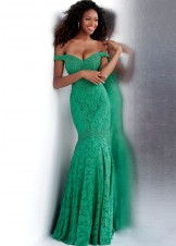 JVN by Jovani JVN62564 Jade Lace Off the Shoulder Gown Size 20