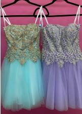 JVN by Jovani JVN63635 Strapless Short Dress