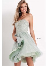 Jovani K04445 Strapless Short Kids Dress
