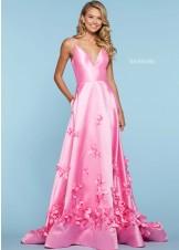 Sherri Hill 53337 3D Floral Ball Gown