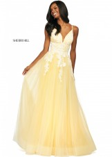 Sherri Hill 53730 Lace Tulle Ball Gown