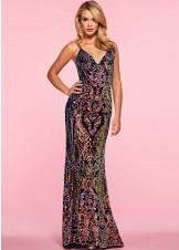Alisha Hill 80089 Multi Color Glitter Ombre Sequin