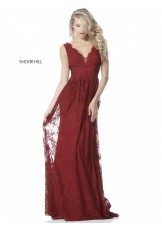 Sherri Hill 51562 Elegant Lace Evening Gown