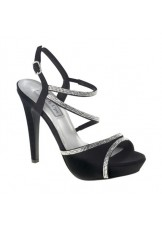 Allie by Touch Ups Strappy Satin Shoes
