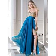 Alyce B'Dazzle 35694 Strapless Dress