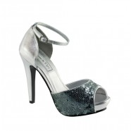 Debbie by Touch Ups Sequin Party Shoes