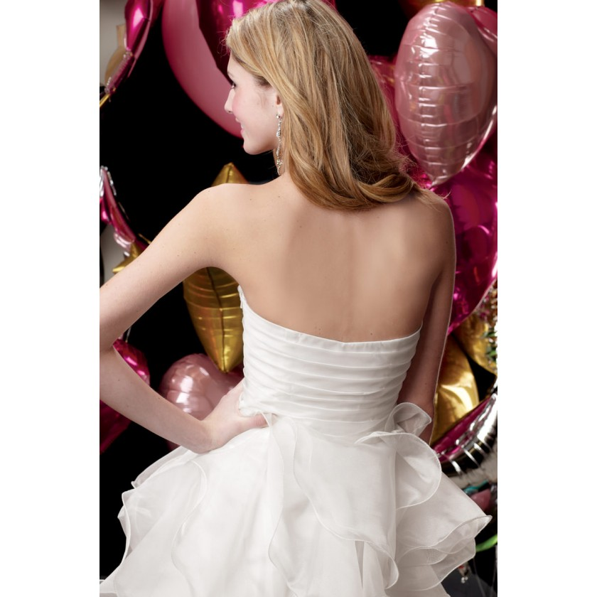 White Alyce 3545 Strapless Cocktail Dress for $130.00