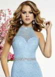 Panoply 14855 Dazzling Beaded Long Evening Gown