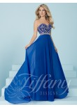 Tiffany Designs 16221 Beaded Strapless Sweetheart Dress