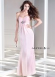 Alyce B'Dazzle 35709 Elegant Strapless Chiffon Dress