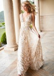 Sherri Hill 52474 Metallic Print Chiffon Dress