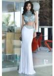 Alyce 6372 Jeweled Stones Two Piece Dress