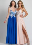 Dave and Johnny A7628 Floral Prom Dress