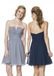 Bari Jay 1527 Short Chiffon Dress