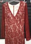 JVN by Jovani JVN55158 Extraordinary Long Sleeve Lace Gown